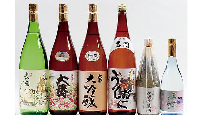 宇和島の地酒の写真