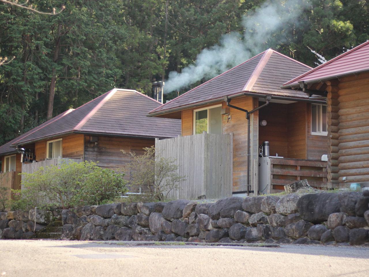 祓川温泉の外観の写真