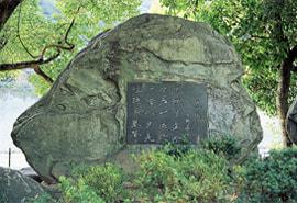 中野逍遙の墓の写真
