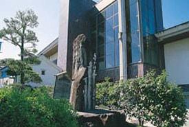 松根東洋城(まつねとうようじょう)の句碑の写真