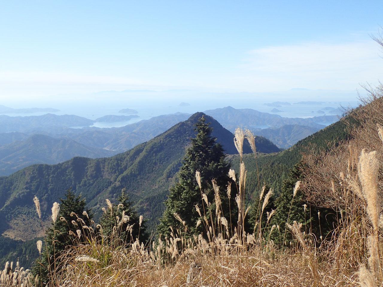 鬼ヶ城山系の写真