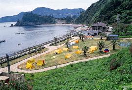 日崎海水浴場の写真