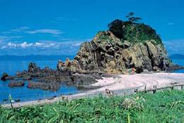 沖の島の写真