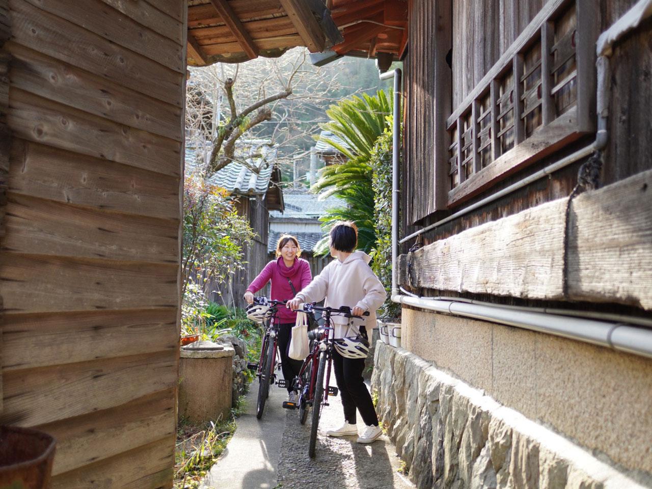 九島の町並みの写真