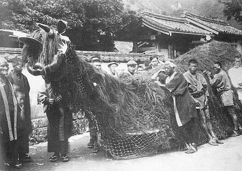 吉田町の牛鬼の写真